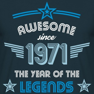 Awesome since 1971 T-Shirts - Männer T-Shirt