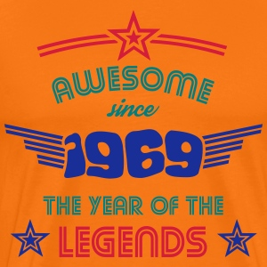 Awesome since 1969 - Psychedelic Edition T-Shirts - Männer Premium T-Shirt