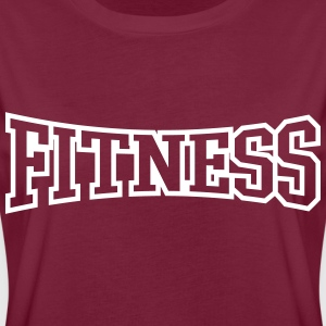 FITNESS T-Shirts - Frauen Oversize T-Shirt