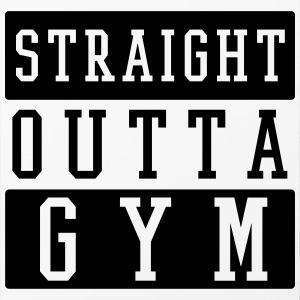 STRAIGHT OUTTA GYM Handy & Tablet Hüllen - iPhone 4/4s Hard Case