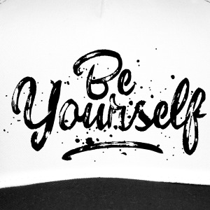 Be Yourself Typografie Caps & Mützen - Trucker Cap