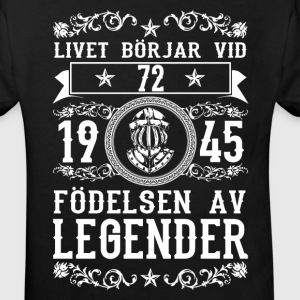 1945 - 72 ar - Legender - 2017 - SE T-shirts - Ekologisk T-shirt barn
