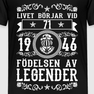 1946 - 71 ar - Legender - 2017 - SE Shirts - Teenage Premium T-Shirt