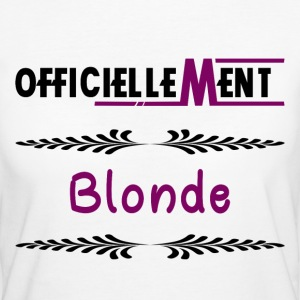 Officiellement Blonde - T-shirt Bio Femme