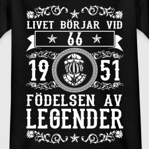 1951 - 66 ar - Legender - 2017 - SE T-shirts - Teenager-T-shirt