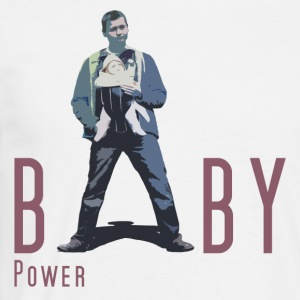 Baby Power - Männer T-Shirt