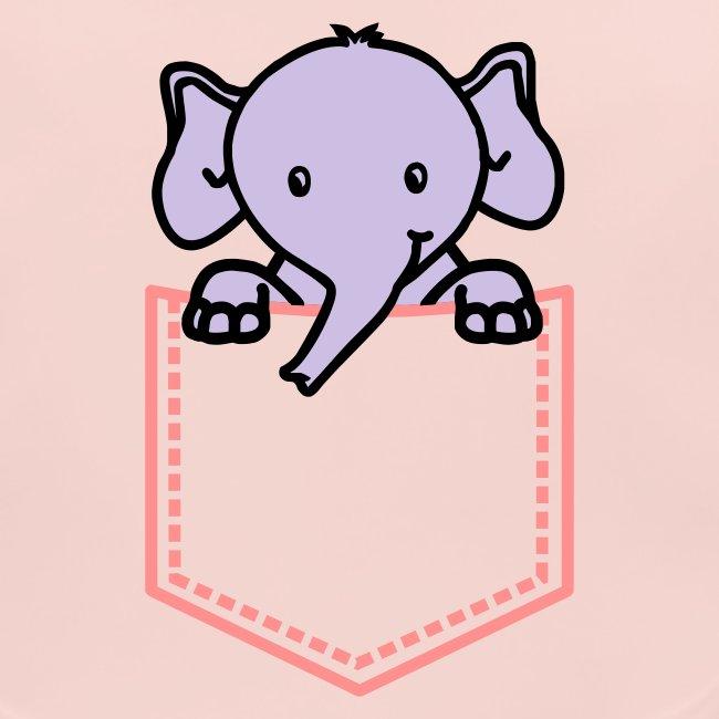 Baby Bib Little Elephant