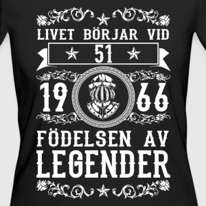 1966 - 51 ar - Legender - 2017 - SE T-Shirts - Frauen Bio-T-Shirt