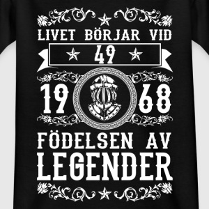 1968 - 49 ar - Legender - 2017 - SE Shirts - Teenage T-shirt