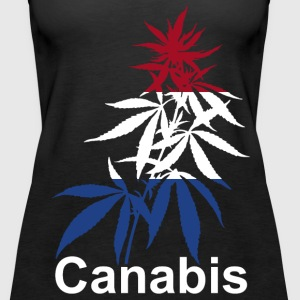 Canabis plant Holland dames tanktop - Vrouwen Premium tank top