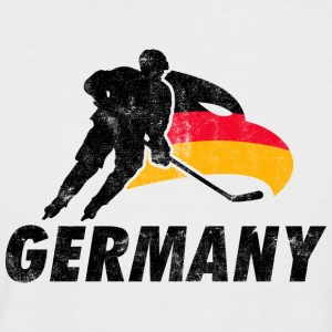 EISHOCKEY TEAM GERMANY  T-Shirts - Männer Baseball-T-Shirt