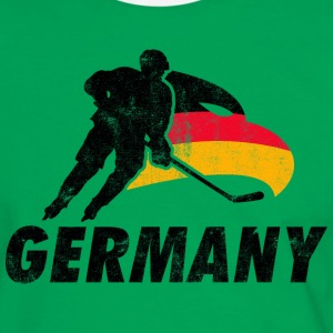 EISHOCKEY TEAM GERMANY  T-Shirts - Männer Kontrast-T-Shirt