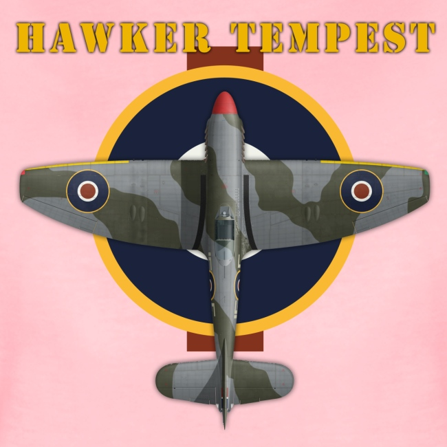 Hawker Tempest - Woman's T-Shirt