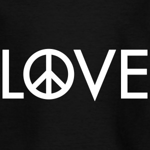 Love peace Shirts - Teenage T-shirt