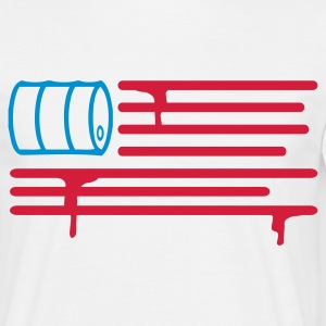 United States of Oil (2c, NEU) - Herre-T-shirt