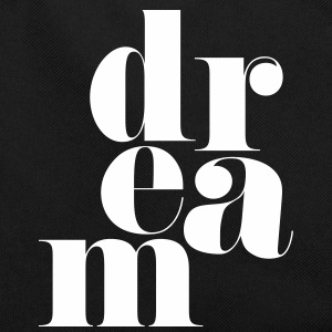Dream Motivational Quote Tassen & rugzakken - Retro-tas