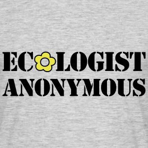 Ecologist anonymous - T-shirt herr