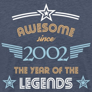 Awesome since 2002 T-Shirts - Männer Premium T-Shirt