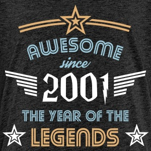 Awesome since 2001 T-Shirts - Teenager Premium T-Shirt