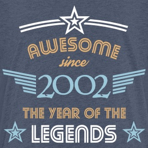 Awesome since 2002 T-Shirts - Teenager Premium T-Shirt
