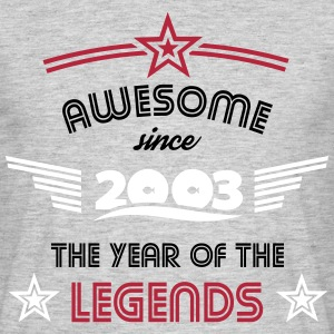 Awesome since 2003 - Nemo Edition T-Shirts - Männer T-Shirt