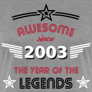Awesome since 2003 T-Shirts - Frauen Premium T-Shirt