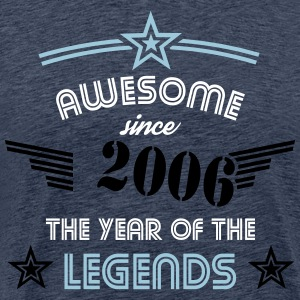 Awesome since 2006 - Stencil Edition T-Shirts - Männer Premium T-Shirt