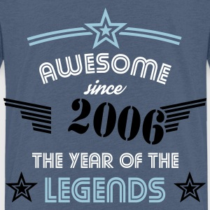 Awesome since 2006 - Stencil Edition T-Shirts - Kinder Premium T-Shirt