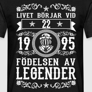 1995 - 22 ar - Legender - 2017 - SE T-shirts - Mannen T-shirt