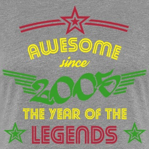 Awesome since 2005 T-Shirts - Frauen Premium T-Shirt