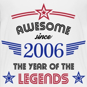 Awesome since 2006 T-Shirts - Kinder Premium T-Shirt