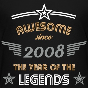Awesome since 2008 T-Shirts - Teenager Premium T-Shirt