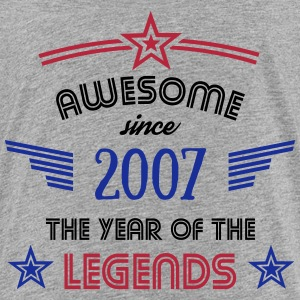 Awesome since 2007 T-Shirts - Teenager Premium T-Shirt