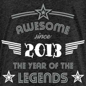 Awesome since 2013 - 2 Color Edition T-Shirts - Kinder Premium T-Shirt
