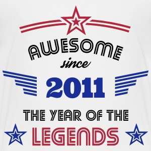 Awesome since 2011 T-Shirts - Kinder Premium T-Shirt