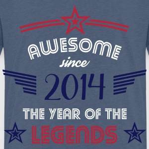Awesome since 2014 T-Shirts - Kinder Premium T-Shirt