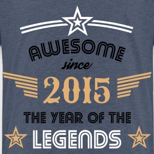Awesome since 2015 T-Shirts - Kinder Premium T-Shirt