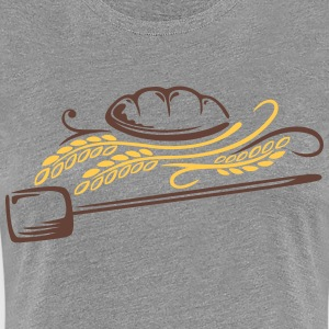 Bread with cereals. Beautiful bakery motif. - Women's Premium T-Shirt