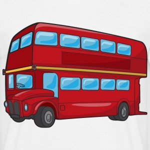 Double Decker Bus - Men's T-Shirt
