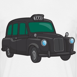 London Taxi Cab - Men's T-Shirt