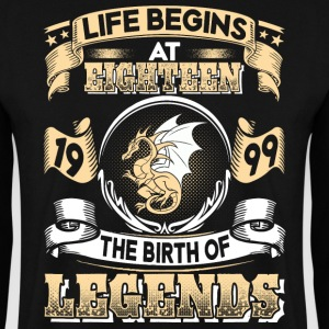 1999 - 18 years - Legends - 2017 - EN Pullover & Hoodies - Männer Pullover