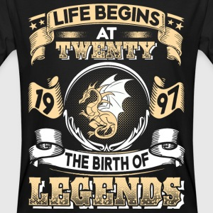1997 - 20 years - Legends - 2017 - EN T-Shirts - Men's Organic T-shirt
