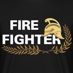 Fire Fighter helmet sprig T-Shirts - Männer T-Shirt