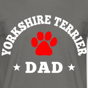 yorkshire terrier dad T-Shirts - Männer T-Shirt