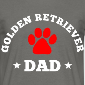 golden retriever dad T-Shirts - Männer T-Shirt