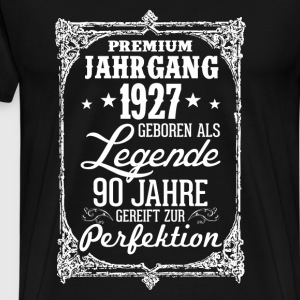 90-1927-legend - perfektion - 2017 - DE T-shirts - Herre premium T-shirt