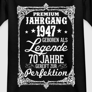 70, 1947-legend - perfection - 2017 - DE Shirts - Kids' T-Shirt