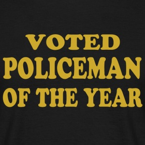 Voted policeman of the year T-Shirts - Men's T-Shirt