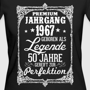 50-1967-legende - perfection - 2017 - DE T-shirts - Vrouwen Bio-T-shirt