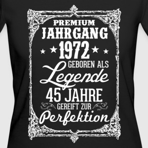 45 - 1972 - Legende - Perfektion - 2017 - DE T-Shirts - Frauen Bio-T-Shirt